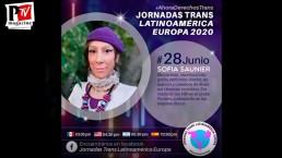 Gracias a Sofia Saunier, Jennifer St. Cartier y Eliseo Perez - Jornadas Trans Latinoamérica Europa 2020
