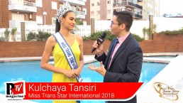 Intervista a Kulchaya Tansiri alla vincitrice del Miss Trans Star International 2018