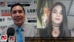 Entrevista con Domenica Fiorella Cruz, representante de Ecuador en el Miss Earth International 2019