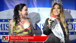 Intervista ad Alessia Cinquegrana Miss Trans Europa 2019
