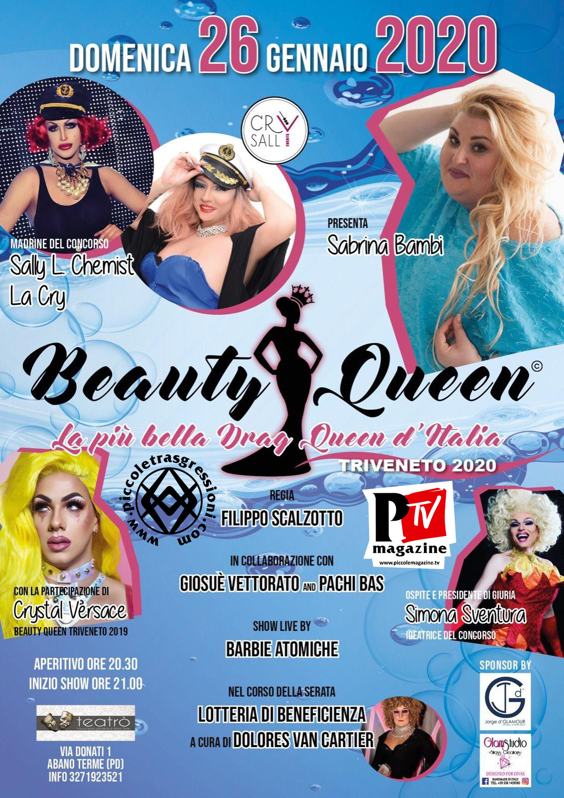 Beauty Queen - selezione Triveneto 2020