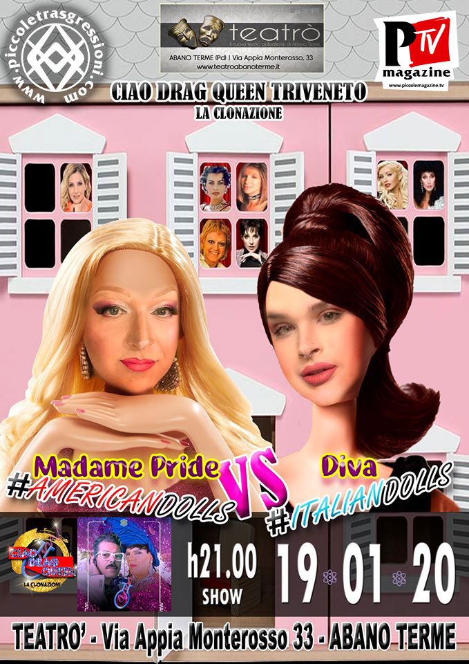 Ciao Drag Queen Triveneto 2019-2020