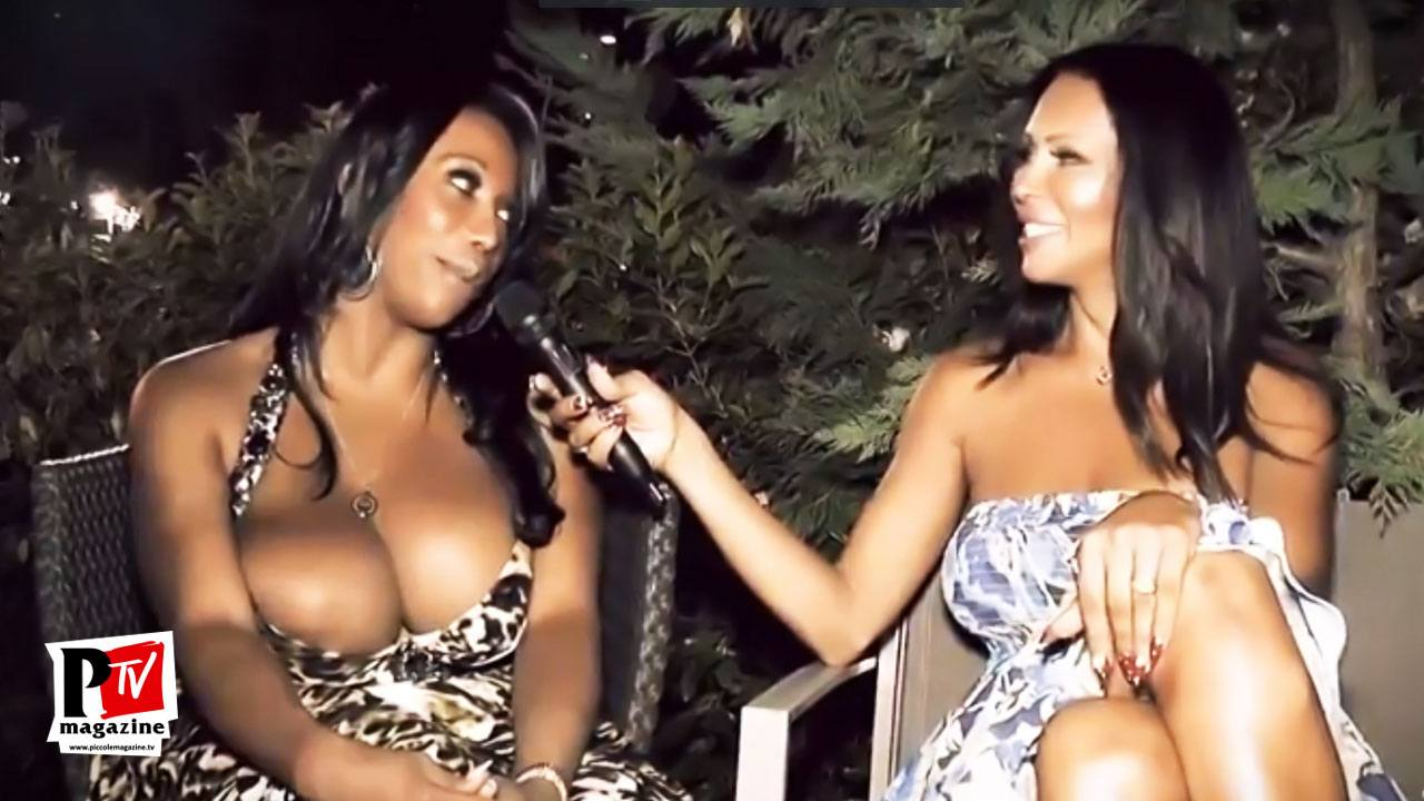Intervista a Jackeline Boing Boing durante la festa del suo compleanno