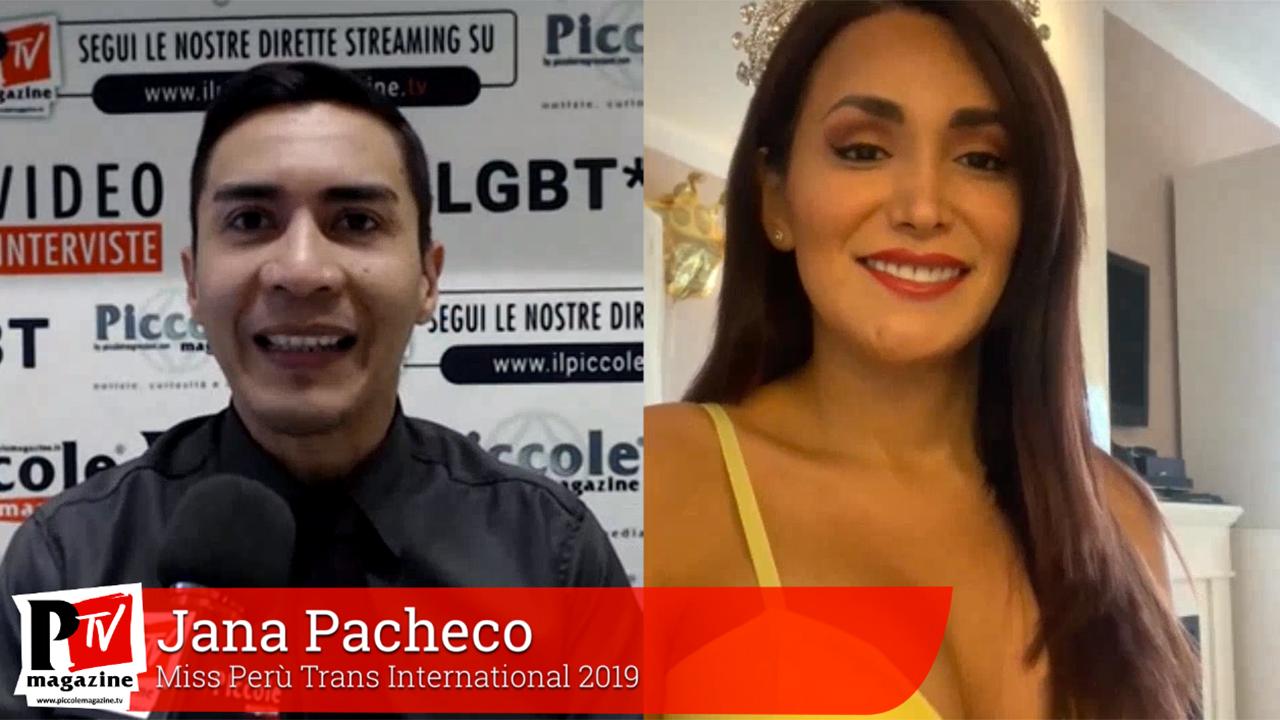Cover intervista a Jana Pacheco