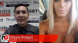Intervista a Felisia Bulgari Cover