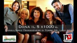Dona il tuo 5x1000 al Consultorio TransGenere!