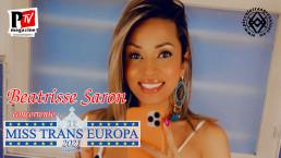 Beatrisse Saron - concorrente Miss Trans Europa 2021