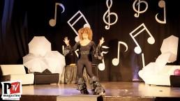 Spettacolo di Dolores Van Cartiè al Ciao Drag Queen Triveneto del 19 Gennaio 2020