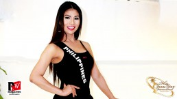 Intervista in costume a Jesse Tusi, Miss Philippines al Miss Trans Star International 2019