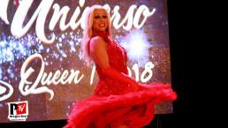 Spettacolo Debora Princess al Miss Universo Queen T in Campania 2018