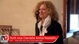 Intervento della Dottoressa Daniela Anna Nadalin al 'Marcella, dieci anni dopo Marcella'