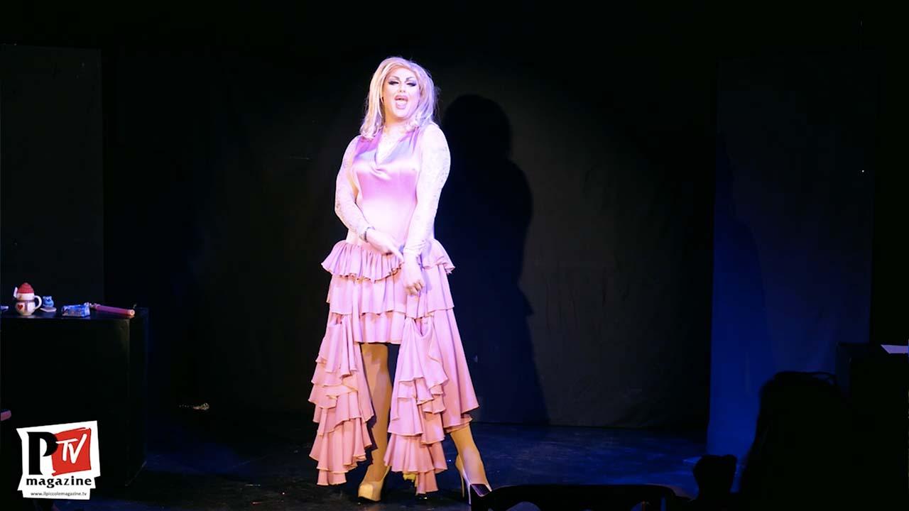 Spettacolo di Luciana Col Pizzetto al Drag Academy del 15 Dicembre 2019