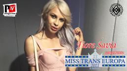 Fiore Savia - concorrente Miss Trans Europa 2021