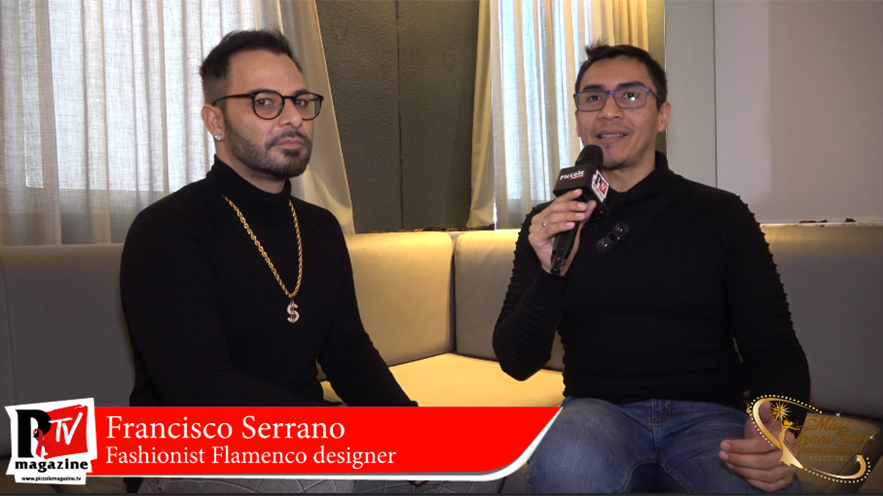 Francisco Serrano - Fashionist flamenco Designer | Miss Trans Star International