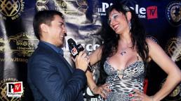 Intervista a Alessia Bergamo alla serata Sexy Strip del Baraonda Disco Club