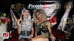 Intervista ad Apollonia Queenage al compleanno di Sebille Garcia e Anna Lopez