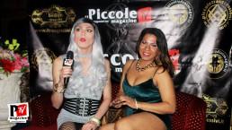Intervista a Camila Ale Melegari al compleanno di Sebille Garcia e Anna Lopez