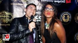 Intervista a Camila Ale Melegari alla Star Night al Baraonda Disco Club