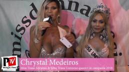 Intervista a Chrystal Medeiros, ospite al Miss Donna Speciale 2019