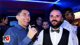 Intervista a Fabrizio Rambo all'inaugurazione del Baraonda Disco Club