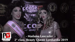 Intervista a Madama Lancaster, 2° classificata al Beauty Queen Lombardia 2019