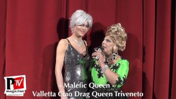 Intervista a Malefic Queen al Ciao Drag Queen Triveneto - Seconda Serata