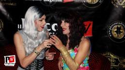 Intervista a Nausica Angel al compleanno di Sebille Garcia e Anna Lopez