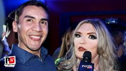 Intervista a Patty Visconti all'inaugurazione del Baraonda Disco Club