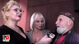 Intervista a Regina Satariano e al Prof. Paolo Valerio alla presentazione del docufilm