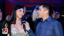 Intervista a Veronicka Linares all'inaugurazione del Baraonda Disco Club