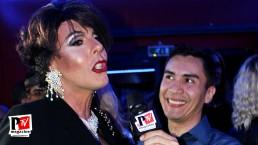 Intervista a Vicky Lamont all'inaugurazione del Baraonda Disco Club