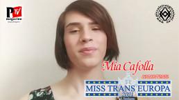 Mia Cafolla - concorrente Miss Trans Europa 2021