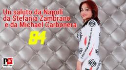 Un saluto da Napoli da Stefania e da Michael!