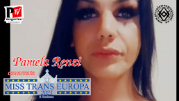 Pamela Renzi - concorrente Miss Trans Europa 2021