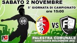Partita 02 Novembre 2019: Sant'Agata Futsal 2004 vs Futsal Cesena