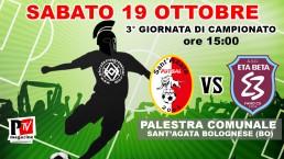 Partita 19 Ottobre 2019: Sant'Agata Futsal 2004 vs A.S.D. Etabeta