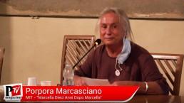 Intervento di Porpora Marcasciano e Nicole De Leo al 'Marcella, dieci anni dopo Marcella'