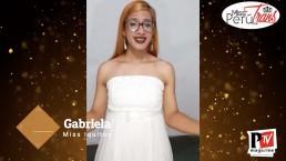 Gabriela, concorrente di Miss Perù Trans 2020
