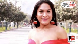 Gishel, concorrente di Miss Perù Trans 2020