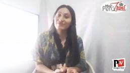 Sulem, concorrente di Miss Perù Trans 2020