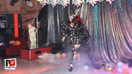 Spettacolo di Sandra Show al compleanno di Sebille Garcia e Anna Lopez