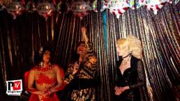 Spettacolo di Alessandra al compleanno di Sebille Garcia e Anna Lopez