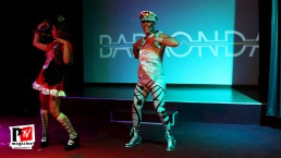 Spettacolo di apertura all'inaugurazione del Baraonda Disco Club