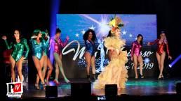 Spettacolo di Chrystal Medeiros al del Miss Universo Queen t in Campania 2019