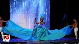 Spettacolo Fabiola Fontana al Miss Universo Queen T in Campania 2018