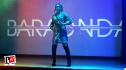 Spettacolo di Ivana Spears all'inaugurazione del Baraonda Disco Club