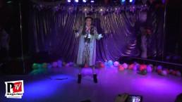 Spettacolo di Madama Lancaster al compleanno di Sebille Garcia e Anna Lopez