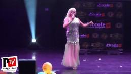 Spettacolo di Samantha Showgirl al Miss Trans Europa 2018