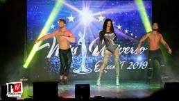 Spettacolo di Sara Finizio al del Miss Universo Queen t in Campania 2019