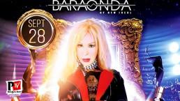 Spettacolo di Wanda Fisher alla Star Night del Baraonda Disco Club